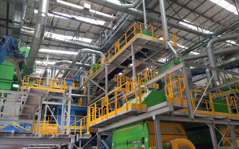 Dust Control Solution at Energy from Waste Facility