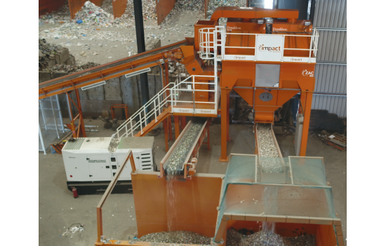 Glass and RDF Recovery at P&D Materials Recovery Ltd